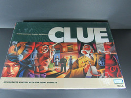 PARKER BROTHERS Clue board game 2002 NEW SEALED!! - $24.74