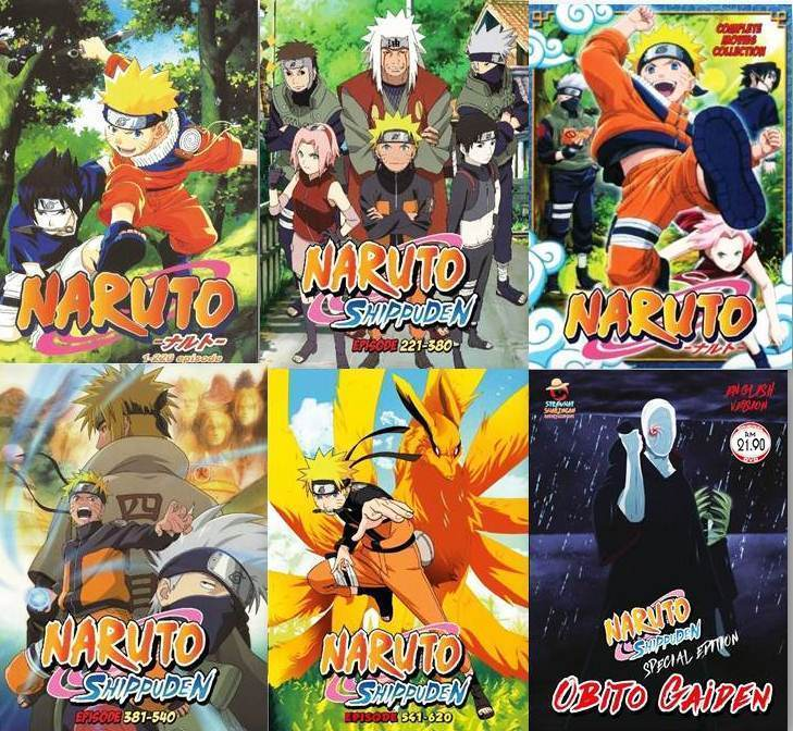 Anime DVD Naruto Episode 1-620 + Movie and similar items