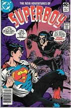 The New Adventures of Superboy Comic Book #4 DC Comics 1980 FINE+ - $2.50