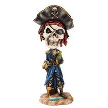 Day Of The Dead Pirate Bobblehead Statue - $19.78