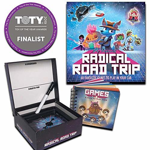 Dr. Biscuits' Radical Road Trip - Kids Travel Game - 60 Fun Games to Play in You