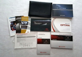 2012 Kia Optima Owners Manual with Navigation Manual 04676 - $24.70
