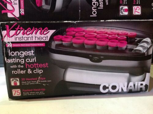 Primary image for Conair Extreme Instant Heat Longest Lasting Curls Hair Rollers CHV26HX New