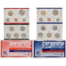2002 P & D US Mint Set United States Original Government Packaging Box C... - $13.99