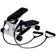 Mini Stepper Resistance Band Exercise Machine Workout Cardio Fitness Hom... - $45.63