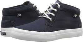 Sperry Top-Sider Women's Crest Knoll Canvas Sneaker,Black Canvas,US 5 M - $43.87 CAD