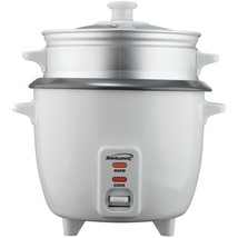 Brentwood Appliances TS-180S Rice Cooker with Steamer (8 Cups, 500 Watts) - £34.93 GBP