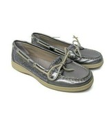 Sperry Top-Sider Angelfish Silver Shoes Loafers Womens 7.5 M # 9180191 - $34.64