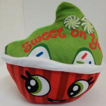 "Cupcake Red Green Sweet on You Plush 8"" Christmas Gift - $9.85"