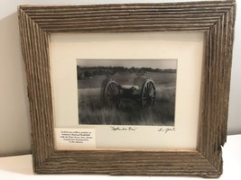 Civil War Framed Picture. Confederate Artillary. 13 X 11 - $28.05