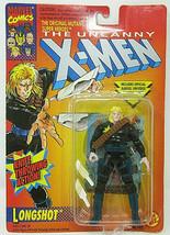 1993 Marvel The Uncanny X-Men Longshot Knife Throwing Action Toy Biz 492... - $8.59