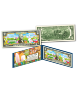 HAPPY EASTER Bunnies Eggs Holiday Colorized Genuine Legal Tender U.S. $2... - €11,71 EUR