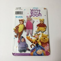 Simplicity  9378 Size 1/2-4 Toddlers' Winnie the Pooh Costumes - $11.64
