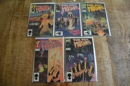 New Mutants #20 21 22 23 24 (Marvel Comics, 1984 1985) VF Condition - $24.00
