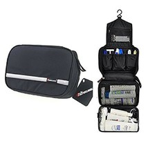 Mens Travel Toiletry Bag Organizer Bathroom Shaving Kit Hanging Women Ma... - $20.60