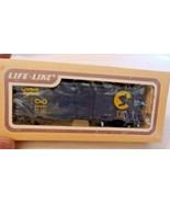 HO Scale Life-Like 40' Box Car, Chessie System C&O, Blue, #26621 BNOS - $17.82