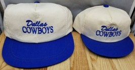 DALLAS COWBOYS CAP with BLUE Embroidery and Brim RARE Vintage YOUTH Size - $9.74