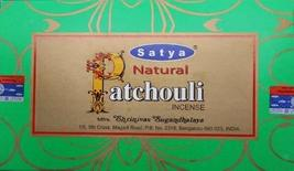 Natural Patchouli - 1 Box of 15 Gram - By Satya Nag Champa - $21.34