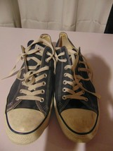 Converse All Star Shoes, Low Top, Blue, Men's Size 12 - $39.60