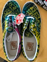 Vans Off The Wall Skater Zapato Hombre 12 Era Della Batil Muliti Color N... - $39.58
