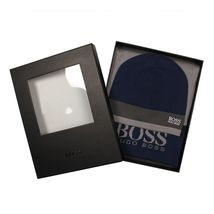 Hugo Boss Premium Scarf and Beanie Knitted Fabric Gift Box Set 50376789 image 7