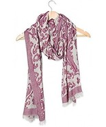 Tickled Pink Women's Vintage Floral Tapestry Lightweight Oblong Scarf, ... - $11.89