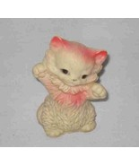 """So Cute Vintage 3 3/4"""" Rubber Plastic Squeeze Toy CAT - $45.35"""