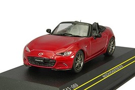 *FIRST: 43 1/43 Mazda Roadster 2015 Seoul Red open the finished product - $38.35