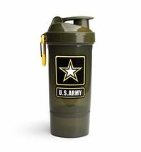 U.S. Army Original2Go 27 Ounce 800ml Shaker Bottle - Blender Bottle for Protein