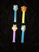 Pez Candy Dispenser Lot Jim Hensen Muppets Miss Piggy Fozzie Bear + 2 More - $24.99