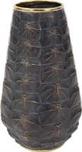 Vase Howard Elliott Tortoise Shell Large Textured Metallic - $199.00