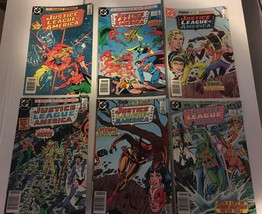 Justice League Of America 228 229 231 232 233 234 DC Book Lot Of 6 1984 ... - $8.99