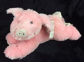 Boyds Oink Oink The Pig Rosa Floppy Puf Furry Peluche Peluche con / Etiquetas - $33.09