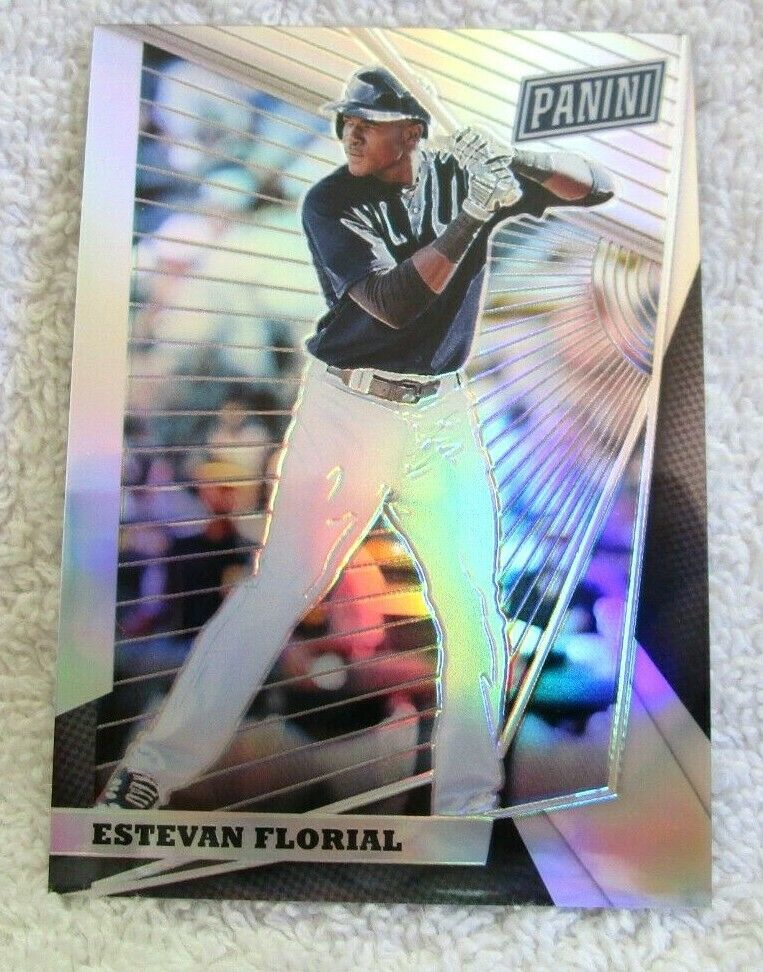 Primary image for Estevan Florial RC 2018 Panini Silver Refractor Rookie#96/99 PSA10?Yankees OF