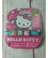 New Hello Kitty By Sanrio Interchangeable 3 Charms S/P 4+ Bracelet 6 in.... - $2.99
