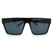RETRO MODERN Sunglasses SQUARE FLAT TOP Chic Stylish UNISEX Fashion Shad... - $9.95