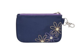 Travelon Safe Daisy Id Pouch Travel Wallet Navy 23136-350 - $12.99