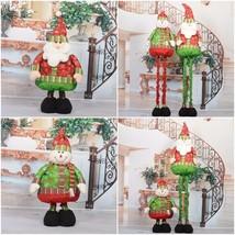 Large Santa Claus Snowman Christmas Trees Hanging Pendants Ornaments Xma... - $67.62