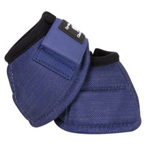 Classic Equine Dyno Turn Horse Bell Boots Navy U-00NV - $29.99