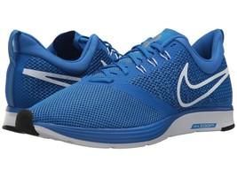 Men's Nike Zoom Strike Running Shoes, AJ0189 401 Sizes 8.5-13 Hyper Cobalt/White - $79.95