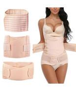 3 In1 Postpartum Belt Belly Slim Body Tummy Shaper Support Waist Recover... - $18.00+