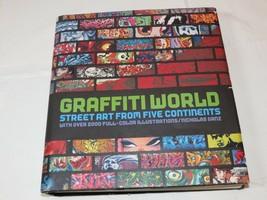 Grafiti World: Arte Callejero De Five Continentes Nicholas Ganz 2004 Tap... - $21.37