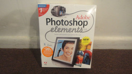 Adobe Photoshop Elements 3.0 for MAC in large retail box. USED Good cond... - $36.90