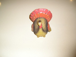 """Thanksgiving Turkey Candle - 3.5"""" Tall and 3.5"""" Wide- Never Lit - $9.00"""