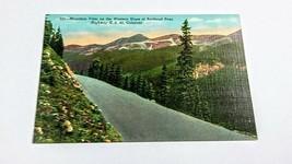 CO~Mountain Vista~Western Slope of Berthoud Pass~Highway US 40~Teich~linen - $0.99