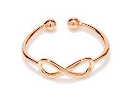 1 piece of Rose Gold Infinity Ring (JZ049B)XH - $2.50