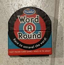 ThinkFun Word A Round 2 Game - Card For Age 10 & Up Where You Race To Un... - $7.69