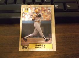 "1987 Topps Barry Bonds Pirates #320 Baseball Card with Misprint "" PSA 10... - $792.00"
