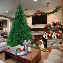 Ship from USA Christmas decoration tree PVC material 90 CM New Artificial Christ image 1