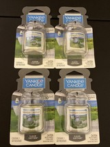 Lot of 4--Brand New YANKEE CANDLE Clean Cotton CAR JAR ULTIMATE Air fres... - $14.95